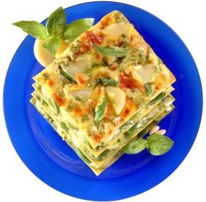 Lasagne med Pesto alla Genovese