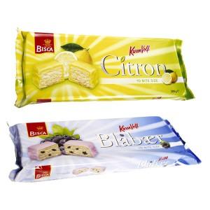 Produktfakta och sortiment Bite Size från Bisca