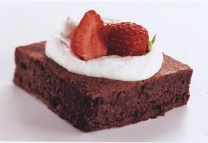 Café Brownie i två smaker – choklad och hasselnöt