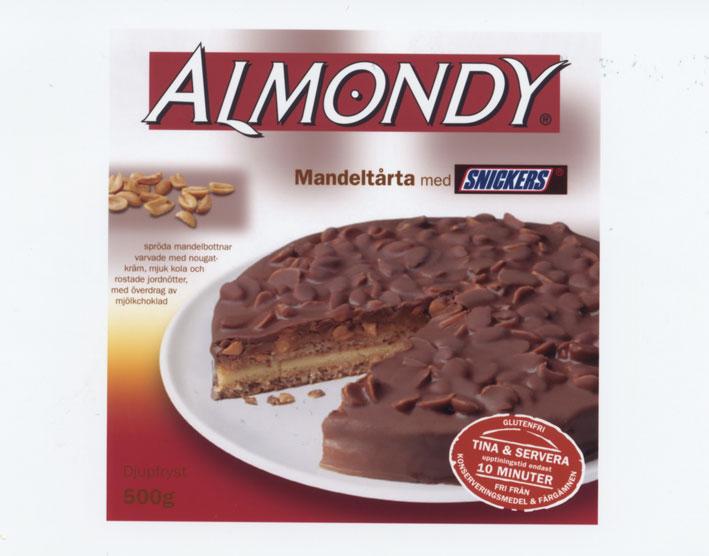 Mandeltårta från Almondy
