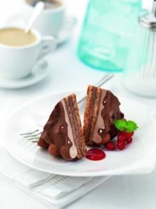 Ny tårta med Toblerone för sommarens alla fikastunder